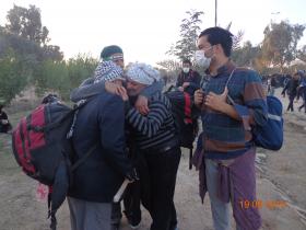 سوگواره سوم-عکس 23-علی مقنی-پیاده روی اربعین از نجف تا کربلا