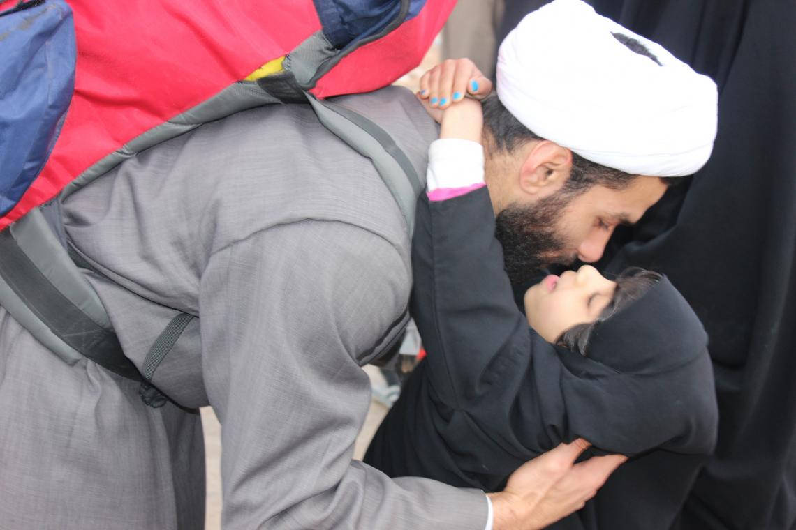سوگواره سوم-عکس 5-امیر ورزدار-پیاده روی اربعین از نجف تا کربلا