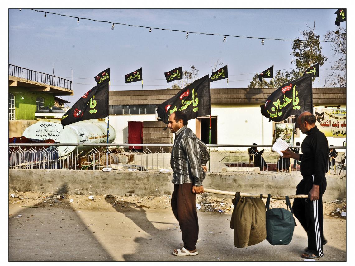 سوگواره چهارم-عکس 22-حمید رضا حبیبی محب سراج-پیاده روی اربعین از نجف تا کربلا