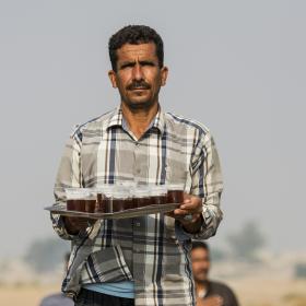 سوگواره پنجم-عکس 9-احسان جزینی-پیاده روی اربعین از نجف تا کربلا
