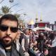 سوگواره چهارم-عکس 23-سید محمد حسین موسوی نژاد-پیاده روی اربعین از نجف تا کربلا