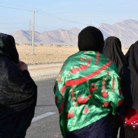 سوگواره پنجم-عکس 16-حسین محبی-پیاده روی اربعین از نجف تا کربلا