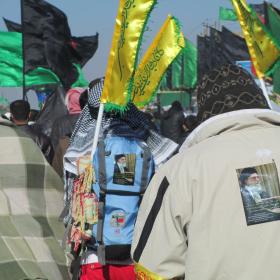 سوگواره دوم-عکس 5-ابوذر کمال-پیاده روی اربعین از نجف تا کربلا