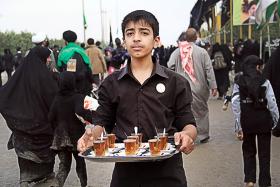 سوگواره سوم-عکس 22-محمد حسن صلواتی-پیاده روی اربعین از نجف تا کربلا