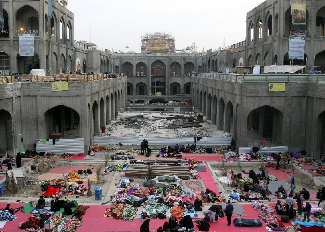 سوگواره پنجم-عکس 101-رسول مختاری-پیاده روی اربعین از نجف تا کربلا