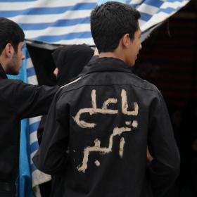 سوگواره دوم-عکس 12-محمد جعفری-جلسه هیأت فضای بیرونی