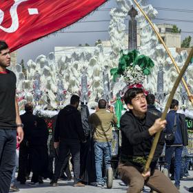 سوگواره چهارم-عکس 17-حسین رحیمی-آیین های عزاداری