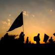 سوگواره پنجم-عکس 118-امیر قیومی-پیاده روی اربعین از نجف تا کربلا