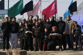 سوگواره سوم-عکس 2-عبدالحسین کرمی راد-پیاده روی اربعین از نجف تا کربلا
