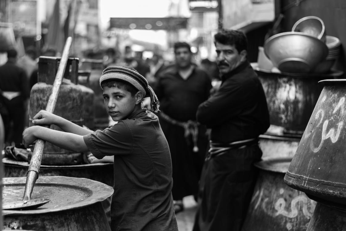 سوگواره پنجم-عکس 8-محمد حسین عیدی-پیاده روی اربعین از نجف تا کربلا