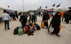 سوگواره سوم-عکس 1-روح اله پورسامانی-پیاده روی اربعین از نجف تا کربلا