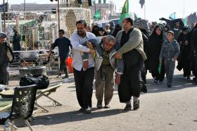سوگواره سوم-عکس 11-امیر حسامی نزاد-پیاده روی اربعین از نجف تا کربلا