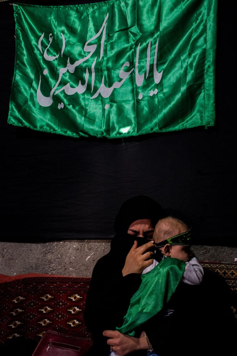 سوگواره پنجم-عکس 21-سید علیرضا رجایی شوشتری-جلسه هیأت