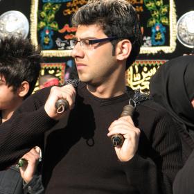 سوگواره چهارم-عکس 104-احمدرضا کریمی-آیین های عزاداری