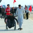 سوگواره چهارم-عکس 24-محمد حسن غضنفری هرندی-پیاده روی اربعین از نجف تا کربلا