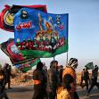 سوگواره سوم-عکس 4-امیر حسامی نزاد-پیاده روی اربعین از نجف تا کربلا