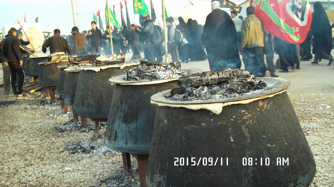 سوگواره چهارم-عکس 43- احمد عسگری زاده-پیاده روی اربعین از نجف تا کربلا
