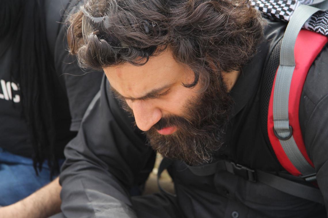 سوگواره چهارم-عکس 13-Hamed Eftekhari-پیاده روی اربعین از نجف تا کربلا