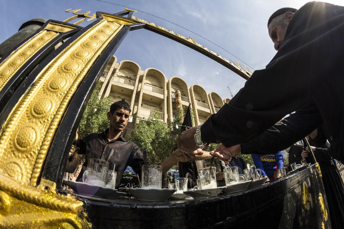 سوگواره پنجم-عکس 23-علی ابک-پیاده روی اربعین از نجف تا کربلا