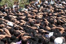 سوگواره سوم-عکس 5-محمد رفیعی موحد-آیین های عزاداری