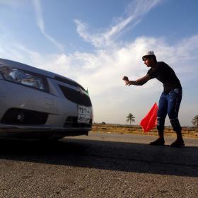 سوگواره سوم-عکس 49-حسین استوار -پیاده روی اربعین از نجف تا کربلا
