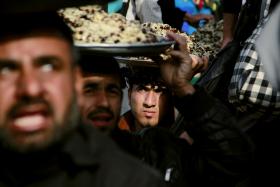 سوگواره سوم-عکس 3-محمد طاها مازندرانی-پیاده روی اربعین از نجف تا کربلا