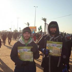 سوگواره دوم-عکس 12-کمیل هدایت فر-پیاده روی اربعین از نجف تا کربلا