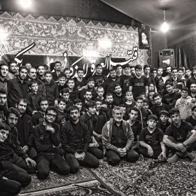 سوگواره سوم-عکس 9-حسین علی پور-جلسه هیأت یادبود