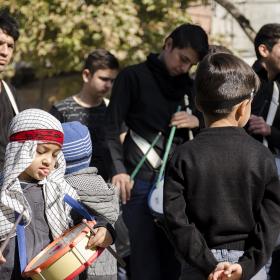 سوگواره چهارم-عکس 12-حسین رحیمی-آیین های عزاداری