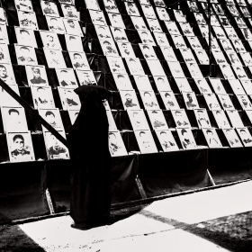 سوگواره پنجم-عکس 7-رضوان معاویان بریچه-پیاده روی اربعین از نجف تا کربلا