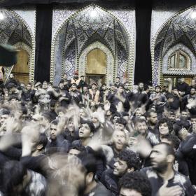 سوگواره پنجم-عکس 124-علی دهقان-پیاده روی اربعین از نجف تا کربلا
