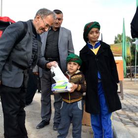 سوگواره پنجم-عکس 18-محمد حسین صادقی-پیاده روی اربعین از نجف تا کربلا