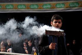 سوگواره دوم-عکس 2-محمد جعفری-جلسه هیأت فضای بیرونی