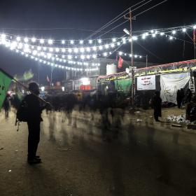 سوگواره چهارم-عکس 27-علی  حسن زاده-پیاده روی اربعین از نجف تا کربلا