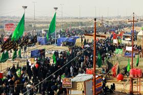 سوگواره سوم-عکس 26-حمید عابدی-پیاده روی اربعین از نجف تا کربلا
