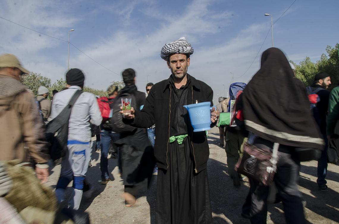 سوگواره سوم-عکس 88-محمدامین غفاری-پیاده روی اربعین از نجف تا کربلا