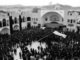 سوگواره چهارم-عکس 27-محمدرضا  خسروی چاهک -جلسه هیأت فضای داخلی