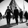 سوگواره چهارم-عکس 16-مهران صدقی-پیاده روی اربعین از نجف تا کربلا