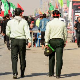 سوگواره پنجم-عکس 4-احسان جزینی-پیاده روی اربعین از نجف تا کربلا