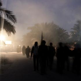 سوگواره سوم-عکس 20-احمد قارداش پور طرقی-پیاده روی اربعین از نجف تا کربلا