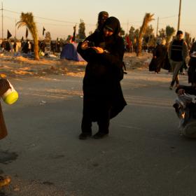 سوگواره سوم-عکس 10-محمد حسین ابراهیمی ورکیانی-پیاده روی اربعین از نجف تا کربلا
