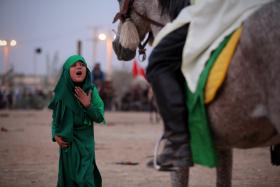 سوگواره سوم-عکس 11-حسین استوار -آیین های عزاداری
