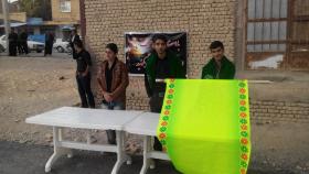 سوگواره چهارم-عکس 6-حاج اسماعیل اسلامی باباحیدری-جلسه هیأت فضای بیرونی