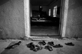 سوگواره سوم-عکس 75-حسین استوار -پیاده روی اربعین از نجف تا کربلا