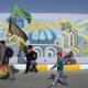سوگواره پنجم-عکس 14-جابر غلامی-پیاده روی اربعین از نجف تا کربلا