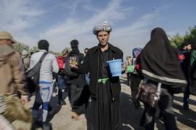 سوگواره سوم-عکس 87-محمدامین غفاری-پیاده روی اربعین از نجف تا کربلا