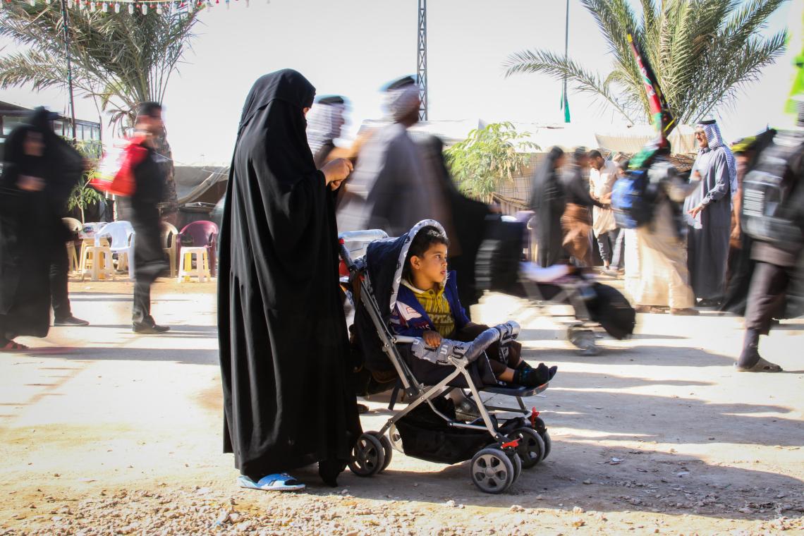 سوگواره سوم-عکس 19-حمید اسماعیل زاده-پیاده روی اربعین از نجف تا کربلا
