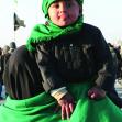 سوگواره پنجم-عکس 3-ساجده حسینی یکتا-پیاده روی اربعین از نجف تا کربلا
