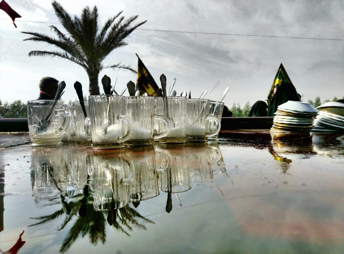 سوگواره پنجم-عکس 11-امیر چراغ ملایی-پیاده روی اربعین از نجف تا کربلا