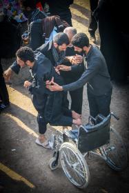 سوگواره چهارم-عکس 40-محمد رضا میثمی-پیاده روی اربعین از نجف تا کربلا